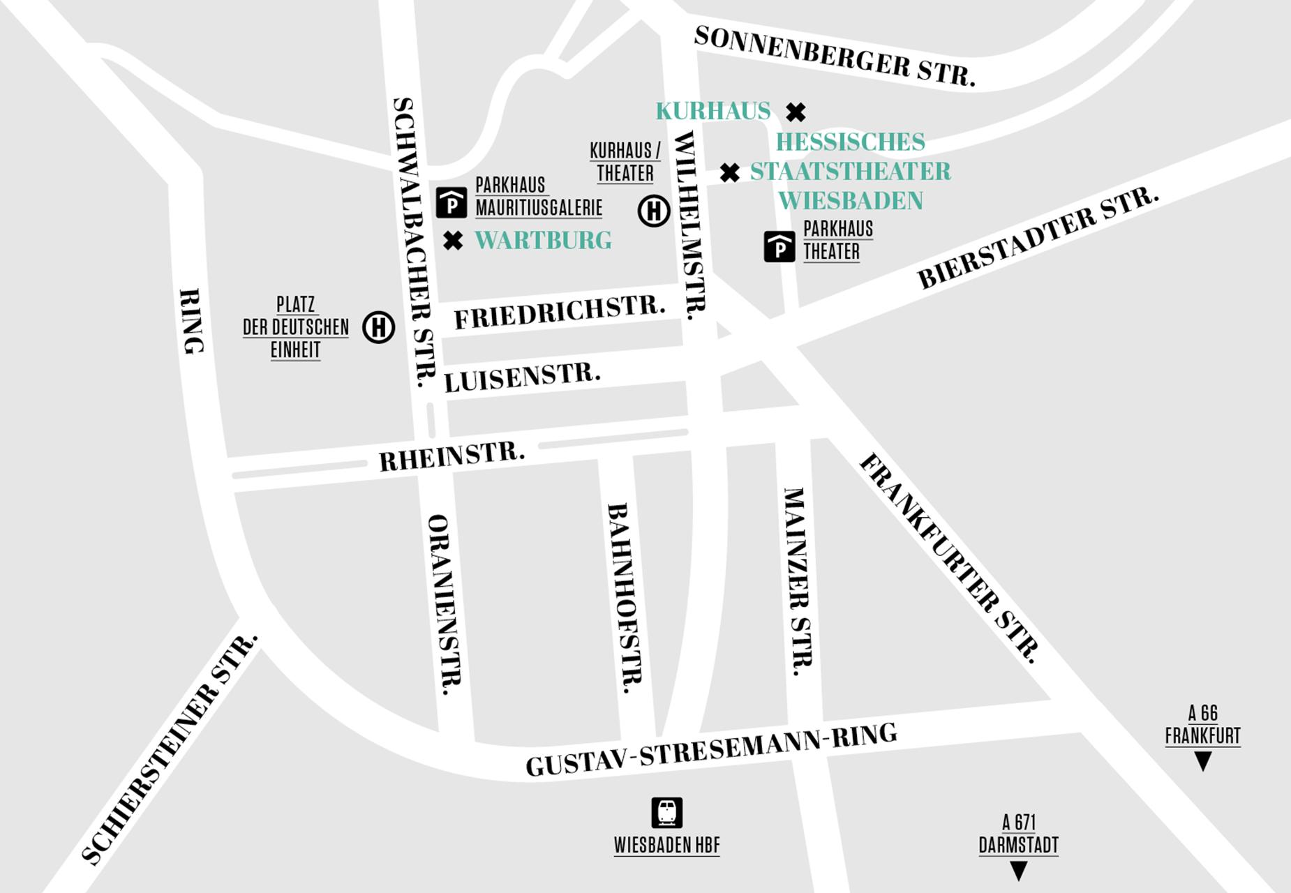Hessisches Staatstheater Wiesbaden Anfahrt